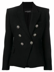 Balmain double breasted blazer - Black