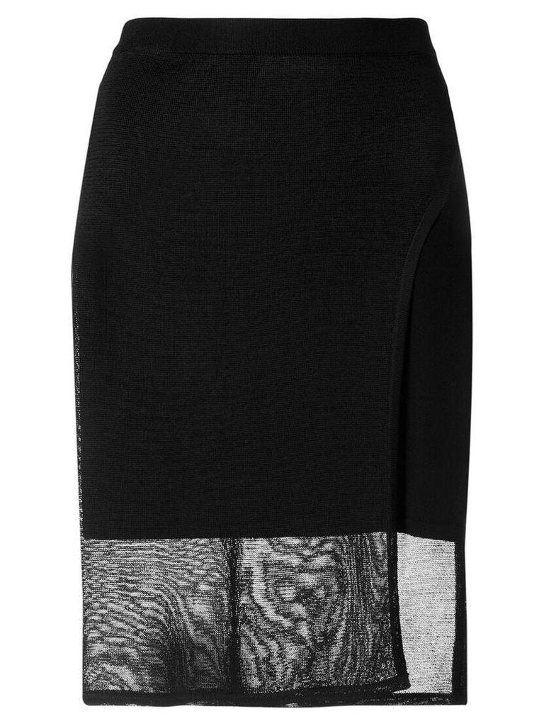 1017 ALYX 9SM draped skirt - Black