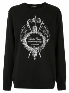 Undercover black graphic sweater