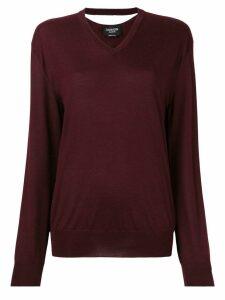 Calvin Klein 205W39nyc v-neck jumper - Red