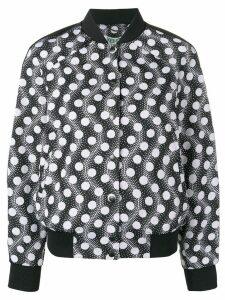 Kenzo polka dot bomber jacket - Black