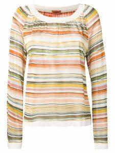 Missoni striped blouse - Neutrals