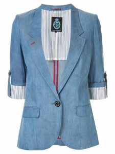 Guild Prime slim-fit short sleeve blazer - Blue