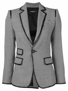 Dsquared2 houndstooth blazer - Black