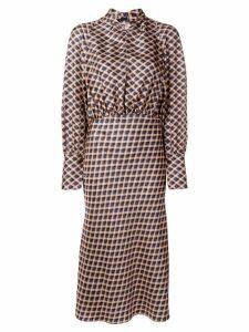 Joseph Lucien check dress - Neutrals