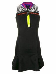 Diesel scuba knit short dress - Black