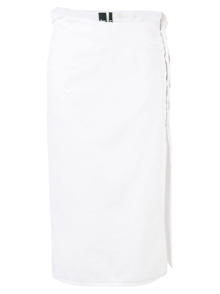 Jacquemus straight skirt - White