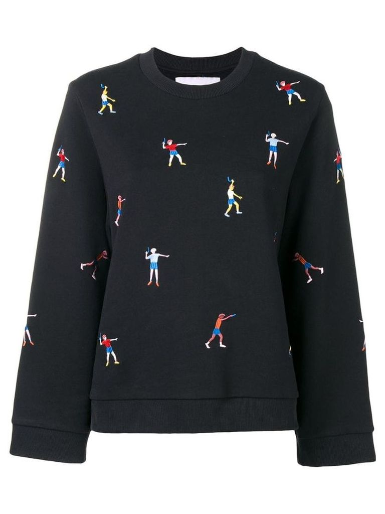 Henrik Vibskov Bounce Back sweatshirt - Black