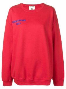 Semicouture 'Gaia' sweatshirt - Red