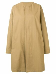 Sara Lanzi oversized coat - Neutrals