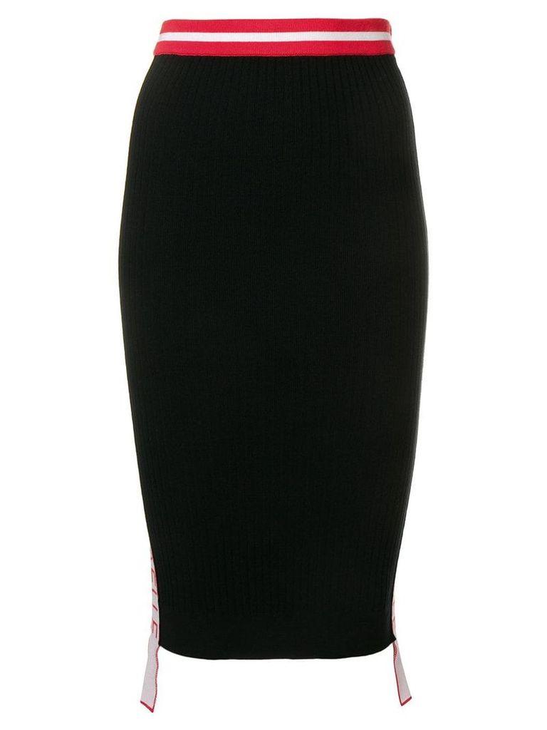 Gaelle Bonheur midi pencil skirt - Black