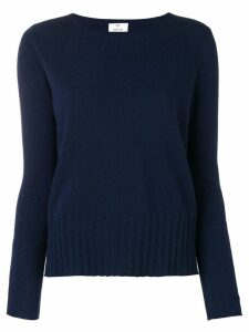 Allude lightweight knitted sweater - Blue