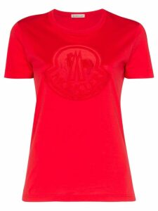 Moncler Logo print T-Shirt - Red