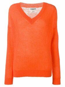 Essentiel Antwerp V-neck sweater - Orange