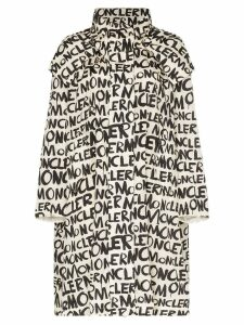 Moncler Amsterdam hooded graffiti jacket - Blue