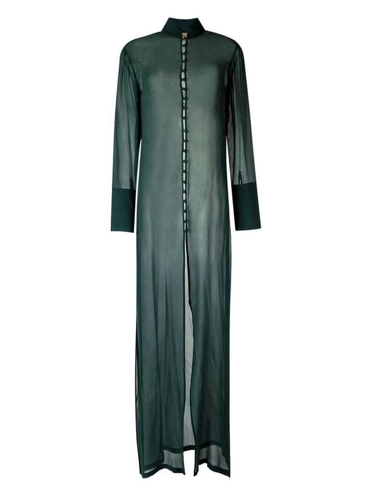 Adriana Degreas maxi dress - Green