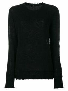 R13 cashmere jumper - Black