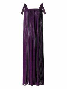 Adriana Degreas maxi dress - Purple