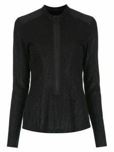 Tufi Duek metallic shirt - Black