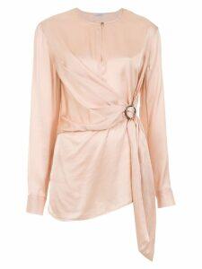 Tufi Duek asymmetrical shirt - Pink