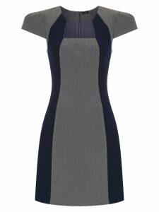 Tufi Duek panelled dress - Blue