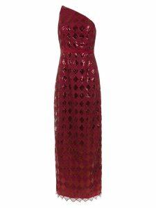 Tufi Duek sequinned long dress - Red