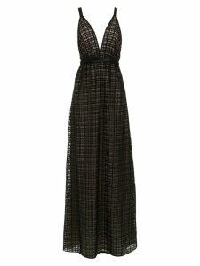 Tufi Duek long lace dress - Black