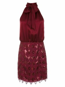 Tufi Duek sequinned short dress - Red