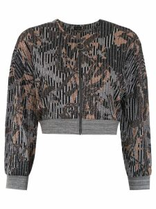 Tufi Duek cropped jacket - Multicolour