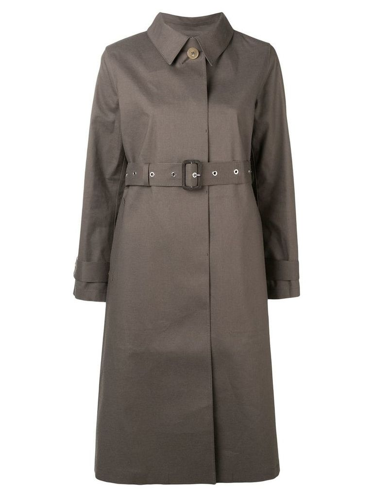 Mackintosh classic belted trench coat - Neutrals