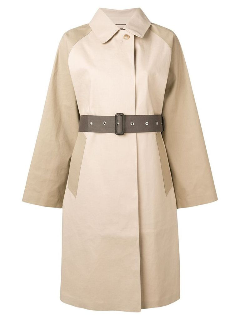 Mackintosh belted trench coat - Neutrals