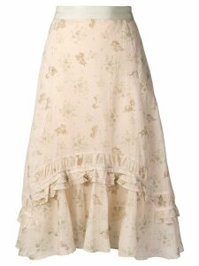 Coach Coach X Disney asymmetric skirt - Neutrals