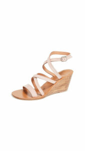 K. Jacques Chloe Wedge Sandals