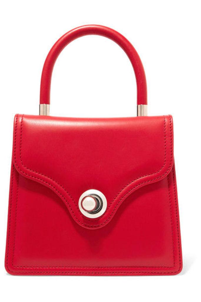 Ratio et Motus - Lady Leather Tote - Red