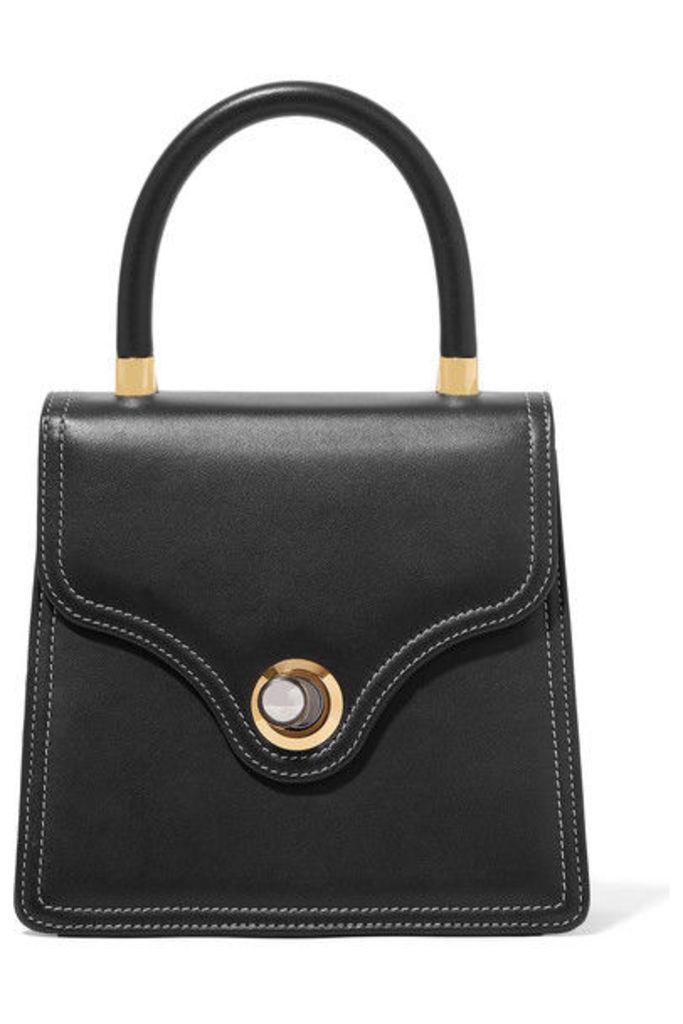 Ratio et Motus - Lady Leather Tote - Black