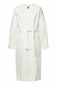 By Malene Birger Cotton Twill Tie-Belt Coat