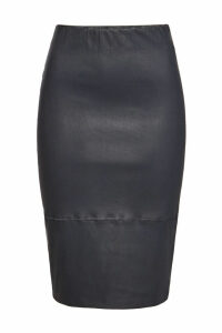 By Malene Birger Stretch Leather Skirt