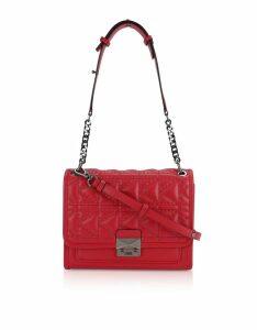 Karl Lagerfeld Designer Handbags, K/Kuilted Rosewood Studs Handbag