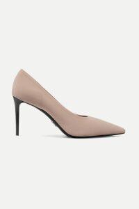 Tory Burch - Tasseled Patchwork Printed Linen Maxi Dress - Sky blue