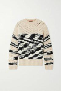 The Range - Alloy Ribbed-knit Midi Dress - Cream