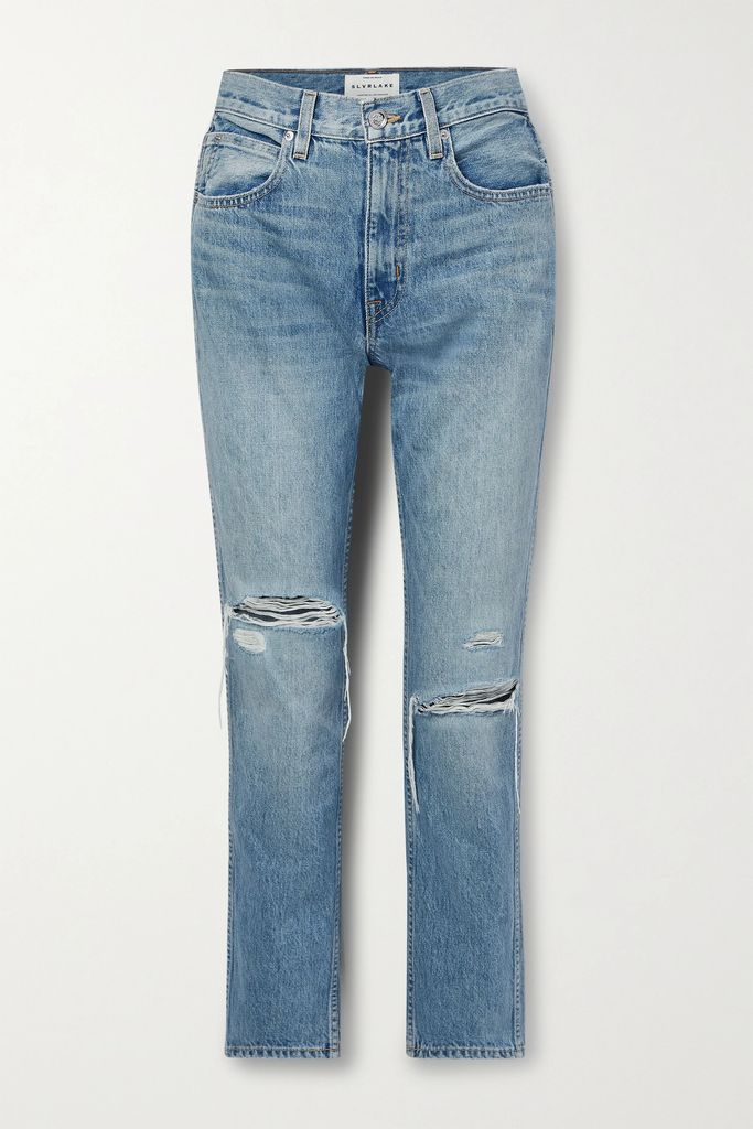 Prada - Belted Floral-print Cotton-poplin Skirt - Purple