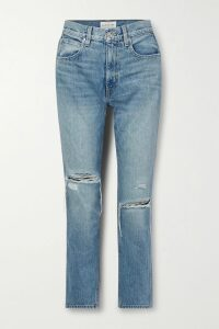 Prada - Belted Floral-print Cotton-poplin Skirt - Purple