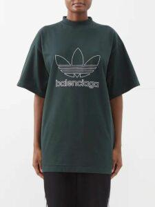 Haider Ackermann - Panelled Check Crepe Tunic Shirt - Womens - Black Blue