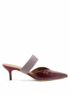 Simone Rocha - Floral Embroidered Tulle Cape - Womens - Black Multi