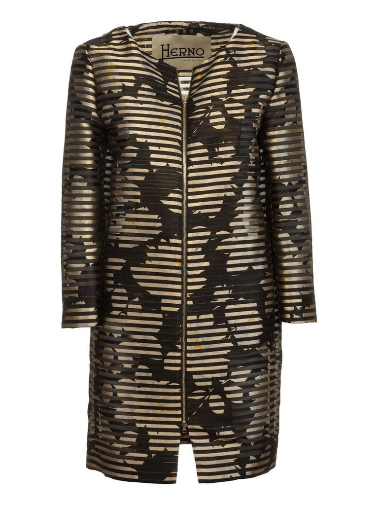 Herno Striped Coat