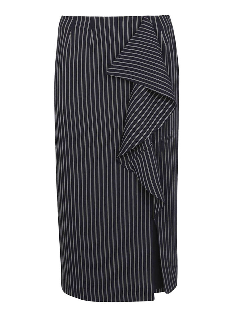Essentiel Pinstriped Skirt