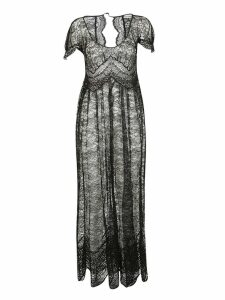 Paco Rabanne Lace Maxi Dress