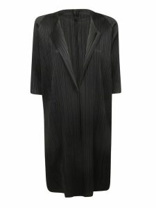 Pleats Please Issey Miyake Crepe Effect Oversized Dress
