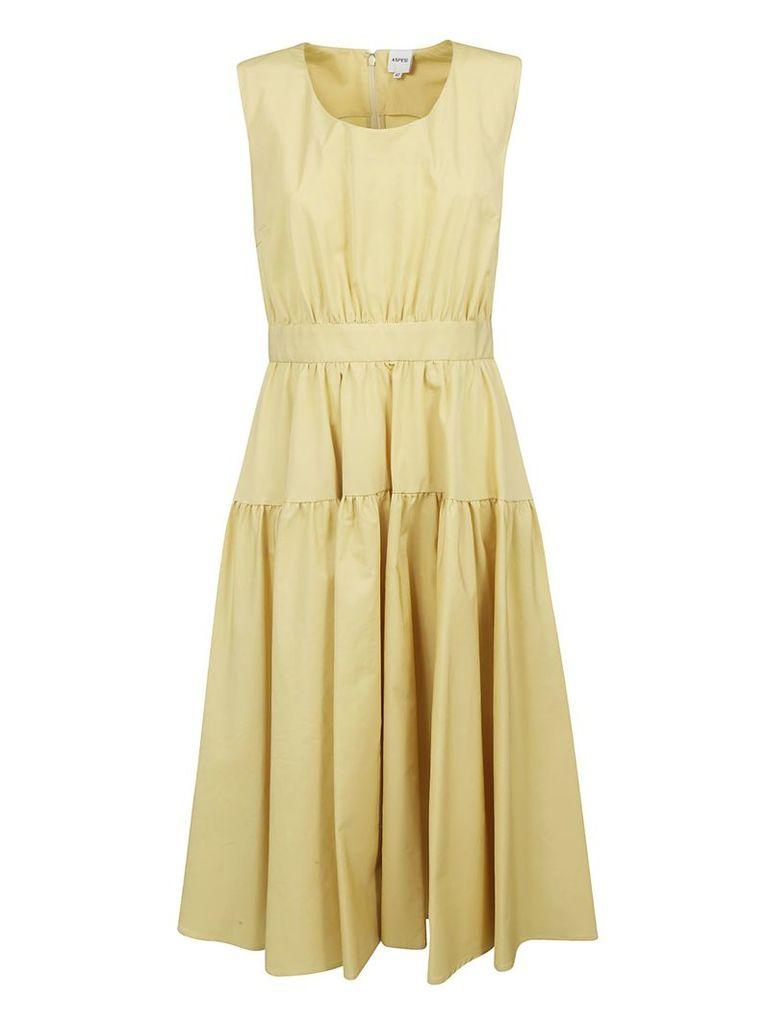 Aspesi Fitted Waist Sleeveless Dress