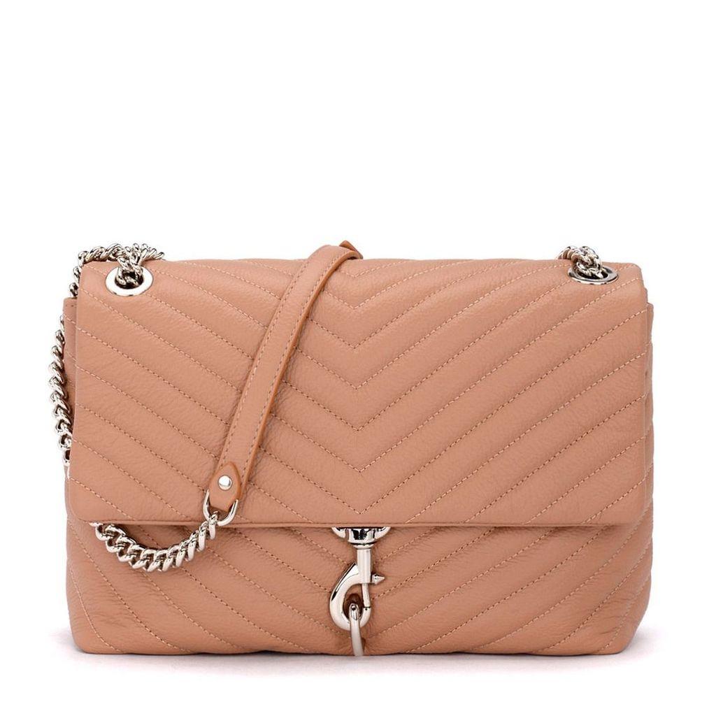 Rebecca Minkoff Edie Flap Desert Leather Shoulder Bag